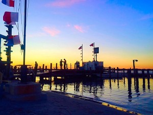 Point Lookout NY has dramatic sunset views from both the bayside and the oceanfront