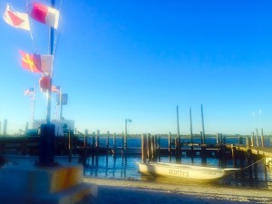 The Clam Bar in Point Lookout offers sea to table dining with waterfront outdoor seating